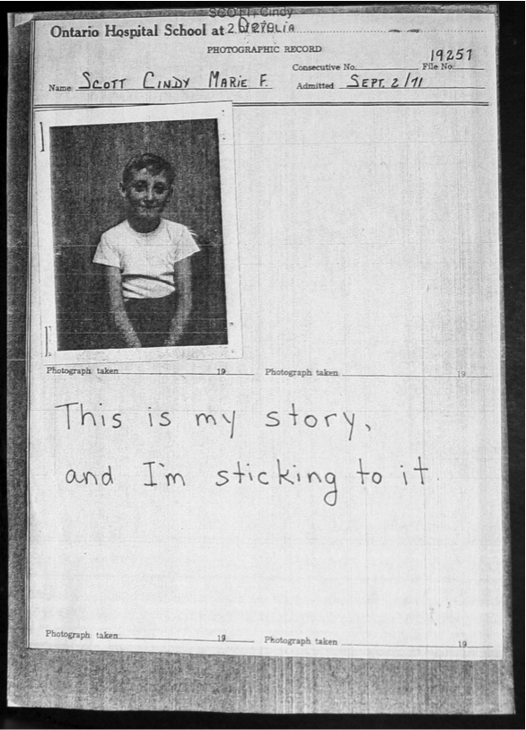 View of That's My Story and I'm Sticking To It   Canadian Journal of